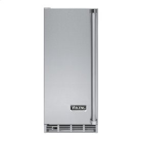 """Stainless Steel 15"""" Undercounter/Freestanding Tall Door Ice Machine - VUIM (Left Hinge Door)"""