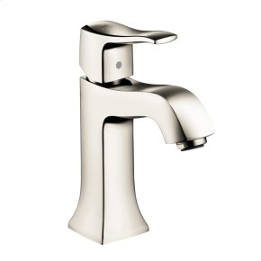 Polished Nickel Single-Hole Faucet 100 with Pop-Up Drain, 1.2 GPM
