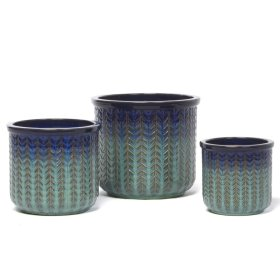 River Arrow Planter - Set of 3