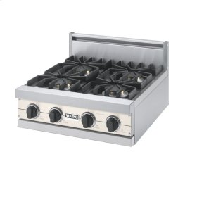 "Oyster Gray 24"" Sealed Burner Rangetop - VGRT (24"" Wide, four burner)"