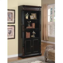 Nicolas Traditional Espresso Bookcase