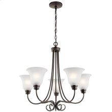 Bixler 5 Light Chandelier Olde Bronze®
