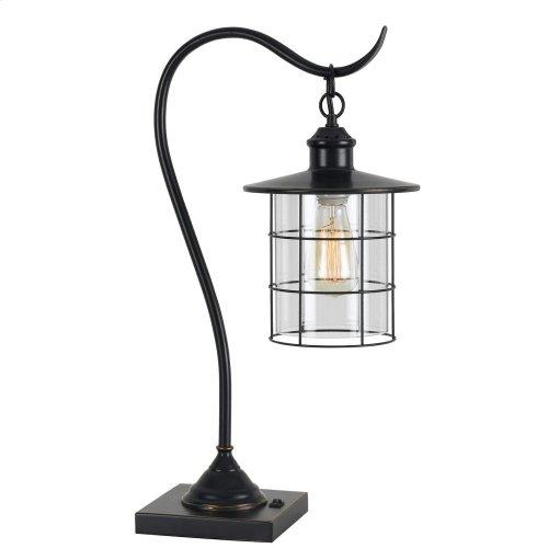 60W Silverton Desk Lamp (Edison bulb included)