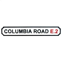 Columbia Road Sign