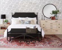 Manor Cathedral Bed with Ashland Dresser