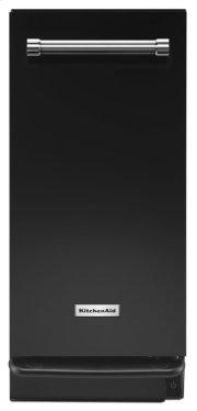 1.4 Cu. Ft. Built-In Trash Compactor - Black Product Image