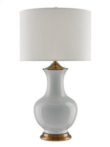 Lilou Table Lamp, White - 32h