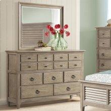 Myra - Nine Drawer Dresser - Natural Finish