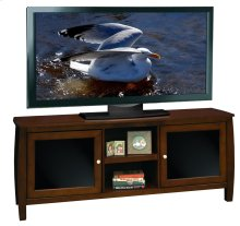 The Curve 60inch Console Mocha
