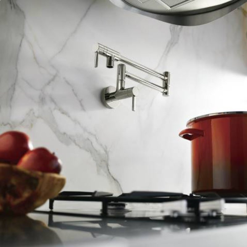 S665 In Chrome By Moen In West Haven Ct Modern Pot Filler Chrome