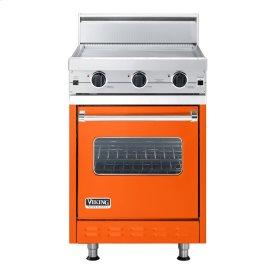 "Pumpkin 24"" Griddle Companion Range - VGIC (24"" wide range with griddle/simmer plate, single oven)"
