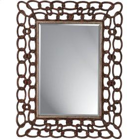 Copper Links Mirror