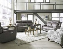 Reclining Loveseat w/ Arm Cupholders