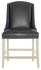 Slope Leather Counter Stool in Chalk Product Image