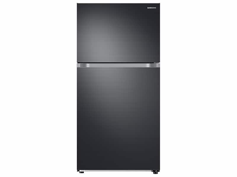 Samsung21 Cu. Ft. Top Freezer Refrigerator With Flexzone™ In Black Stainless Steel