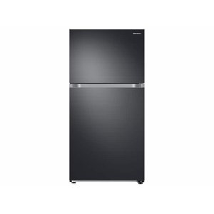 SAMSUNG21 cu. ft. Top Freezer Refrigerator with FlexZone in Black Stainless Steel