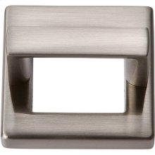 Tableau Square Base and Top 1 7/16 Inch - Brushed Nickel