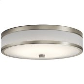 Pira Collection Pira 15 inch LED Flush Mount NI