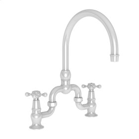Weathered Copper - Living Kitchen Bridge Faucet