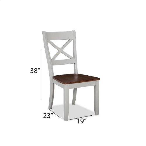 Dining - Small Space X-Back Side Chair