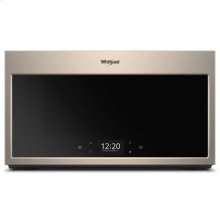 Whirlpool® Smart 1.9 cu. ft. Over the Range Microwave with Scan-to-Cook Technology - Print Resist Sunset Bronze