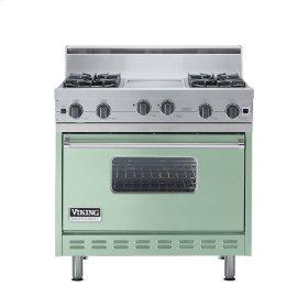 """Sage 36"""" Open Burner Range - VGIC (36"""" wide, four burners 12"""" wide griddle/simmer plate)"""