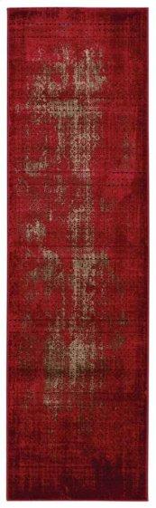 Karma Krm01 Red Runner 2'2'' X 7'6''