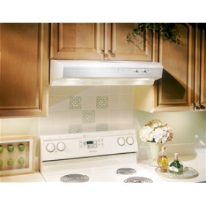 """Out Of Box  Broan 30"""", White-on-White, Under Cabinet Hood, 220 CFM"""