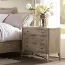 Sophie - Three Drawer Nightstand - Natural Finish Product Image