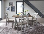 Leg Table and 4 Chairs Product Image