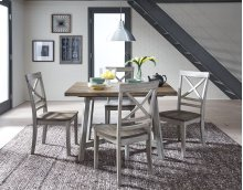 Leg Table and 4 Chairs
