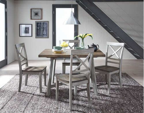 STANDARD 12862 Fairhaven Table and 4 Chairs