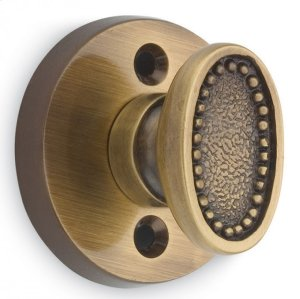 Traditional Oval Beaded Turnpiece - Solid Brass in MB (MaxBrass® PVD Plated) Product Image