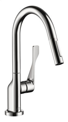 Chrome Citterio 2-Spray Prep Kitchen Faucet, Pull-Down