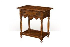 The Corner-detail Bedide Table