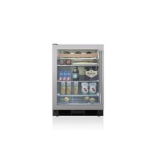 "24"" Undercounter Beverage Center - Stainless Door"