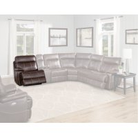 Dylan Mahogany Power Left Arm Facing Recliner Product Image