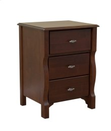 Wellington 3 Drawer Night Stand