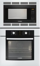 "30"" Combination Wall Oven 500 Series White HBL5720UC Product Image"