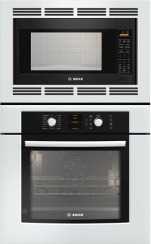 "30"" Combination Wall Oven 500 Series White HBL5720UC"