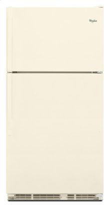 Closeout Bisque Whirlpool® 21 cu. ft. Top-Freezer Refrigerator with Full-Width Pantry