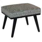 Serengetti Grey Leopard Accent Stool Product Image