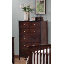 Tia Cappuccino Five-drawer Chest