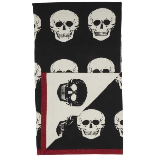 "Trendy, Hip, New-age Uk204 Black/white 50"" X 60"" Throw Blanket"