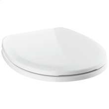 White Round Front Standard Close Toilet Seat