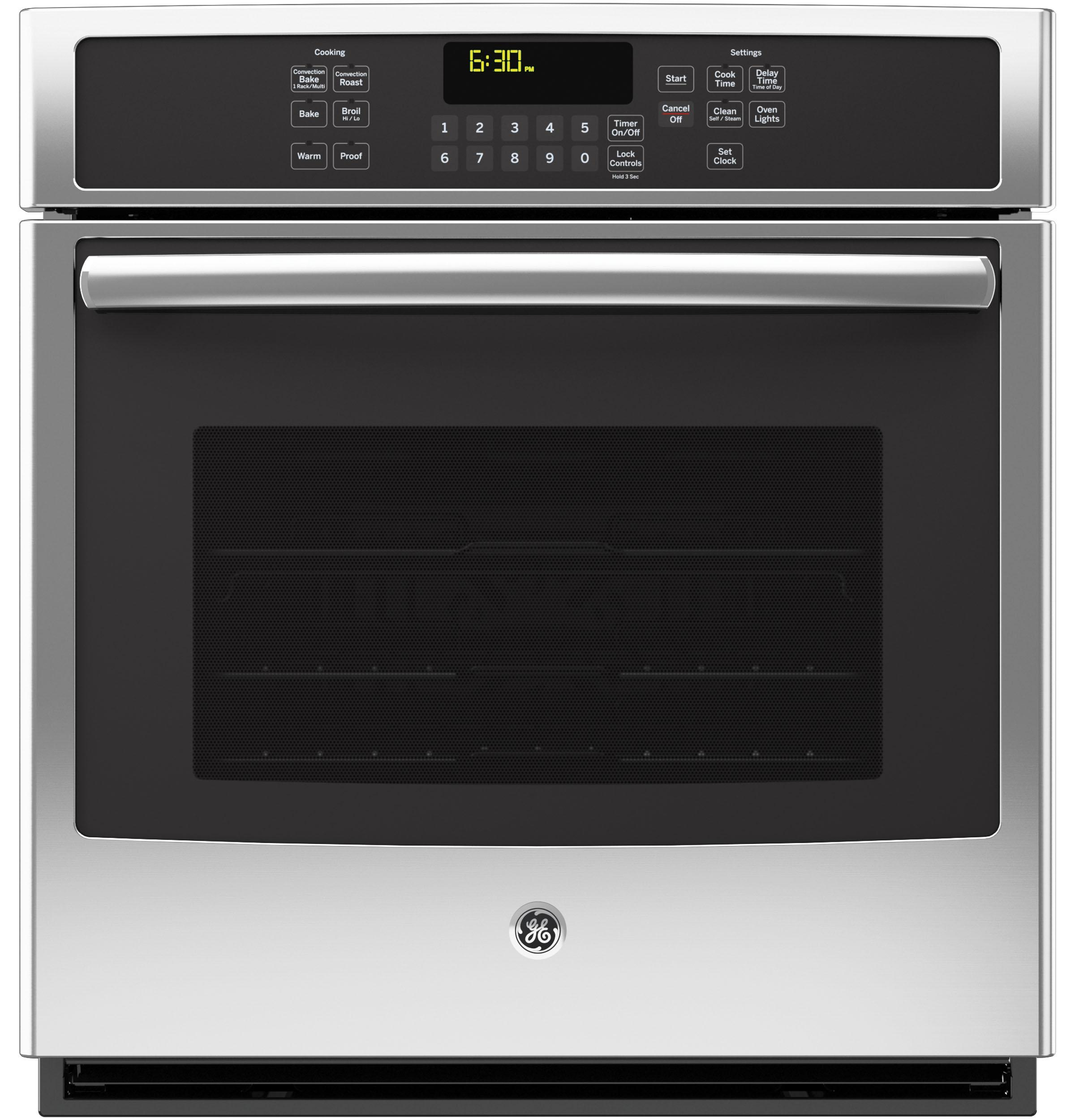 "GE(R) 27"" Built-In Single Convection Wall Oven