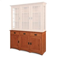 "Prairie Mission Hutch Base, Large, Prairie Mission Hutch Base, 61 1/2"", 18"" Base Product Image"