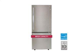 """30"""" Bottom Freezer Drawer Refrigerator With Inverter Linear Compressor, 22 CU.FT."""