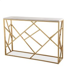Gayle Gold Console Table