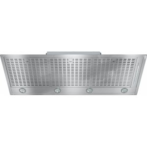 MieleDA 2518 Insert ventilation hood with energy-efficient LED lighting and backlit controls for easy use.